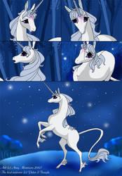 The Last Unicorn by Xx-ArtyAmy-xX