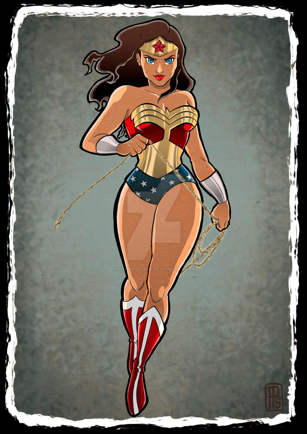Wonder Woman by pixonsalvaje