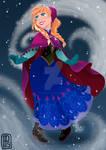 Disney Frozen-Anna