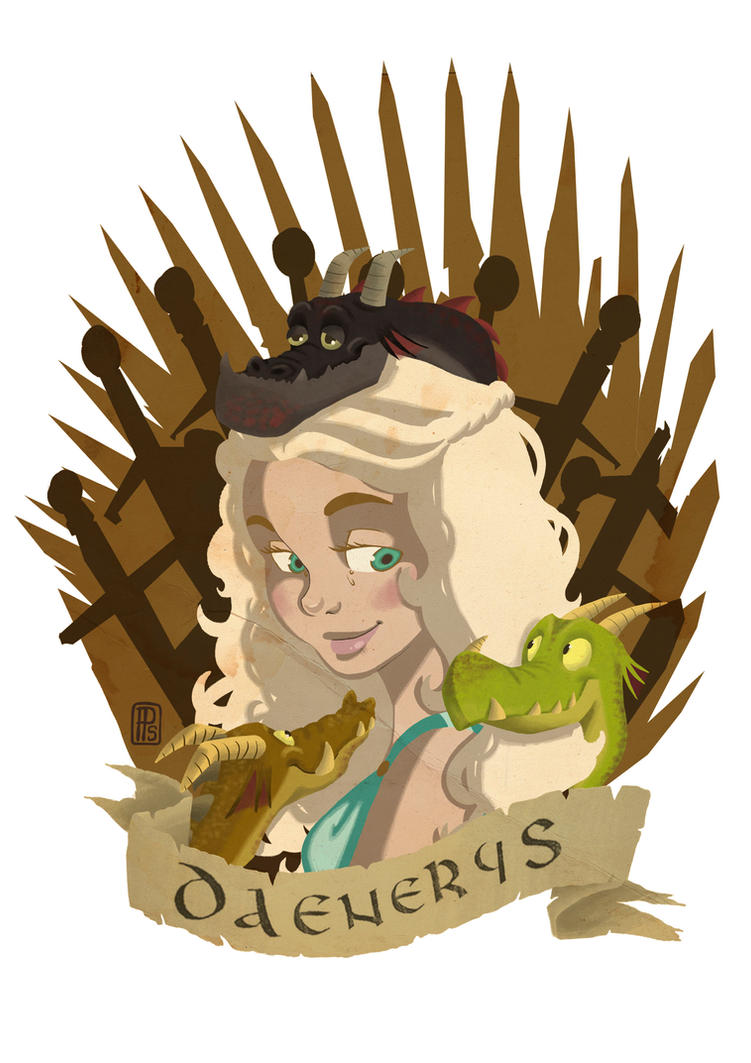 daenerys targaryen by pixonsalvaje