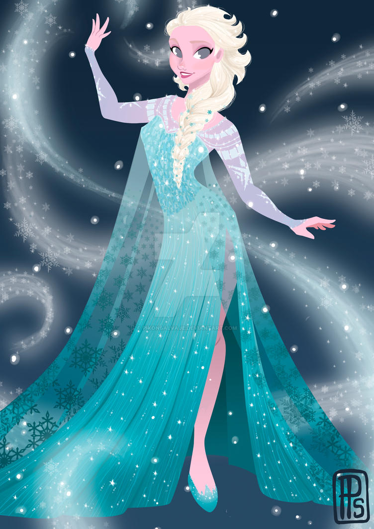 Disney Frozen-Elsa by pixonsalvaje