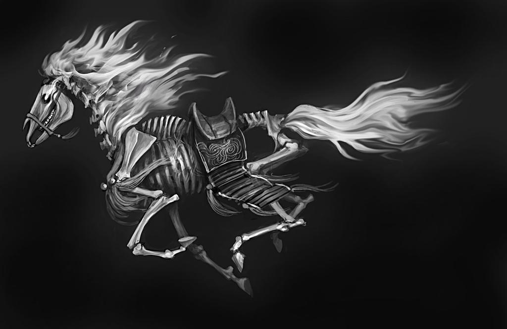 Awesome drawings of horses photo