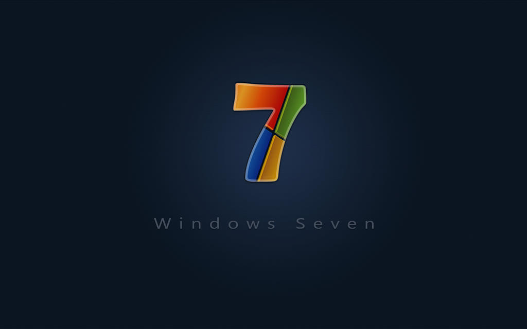 Windows 7 Seven wide by adni18