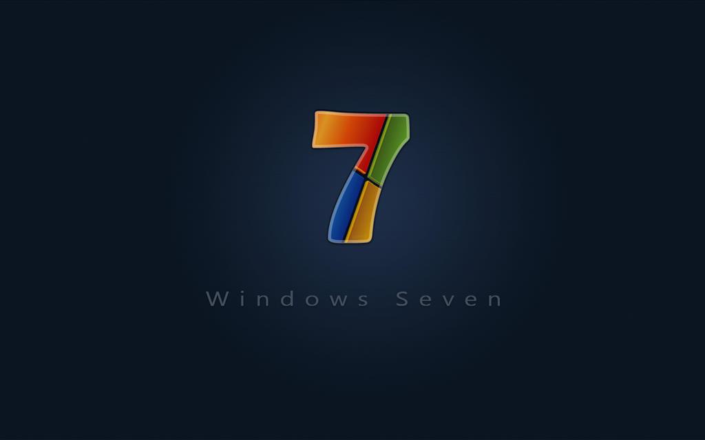 Windows 7 Seven wide by adni18