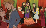 hp: HBP Ch 15, The Party Scene