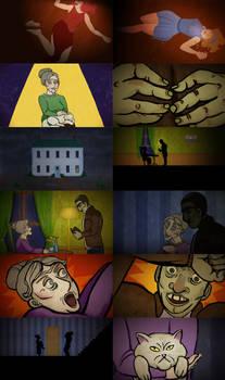 The Lucky Lady animation stills