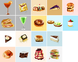 Food Sketches 2016 by YazzyDream