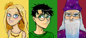 Favorite HP Characters by YazzyDream