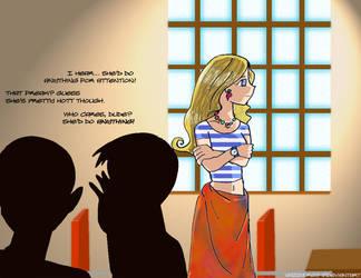 :hp: Luna is Always Alone by YazzyDream