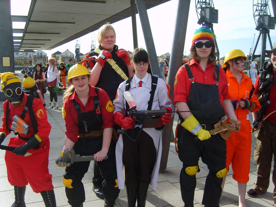Team Fortress by Elle-Ectricity