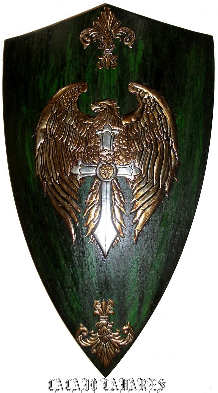 Eagle Medieval Shield by CacaioTavares on DeviantArt