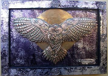 Celtic Owl by CacaioTavares
