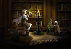 Book fairy by Lubov2001