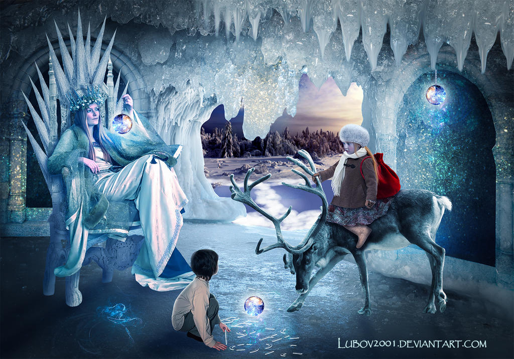 Visiting the snow Queen by Lubov2001