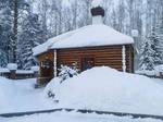 Snowy house 5 by Lubov2001
