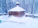 Snowy house 6 by Lubov2001
