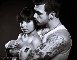 Couple Portrait 1 by ChrisBarrPhotography