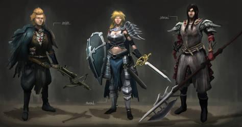 Templar OC Concept