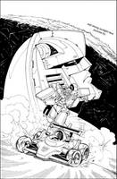 Spotlight Mirage Cover inks by GuidoGuidi