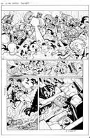 All Hail Megatron- lineart 6 by GuidoGuidi