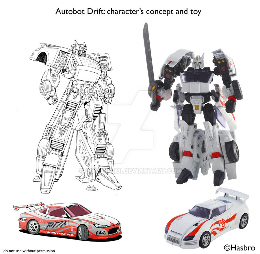 DRIFT - from comic to TOY