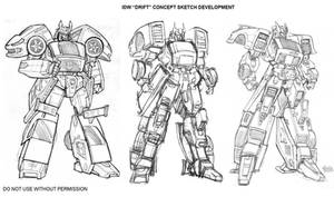 DRIFT - early sketches