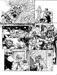X-Men Mistique comic - page 6 by GuidoGuidi