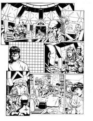 X-Men Husk comic - page 1 by GuidoGuidi