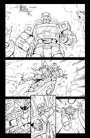 AHM 12 page 2 lineart by GuidoGuidi