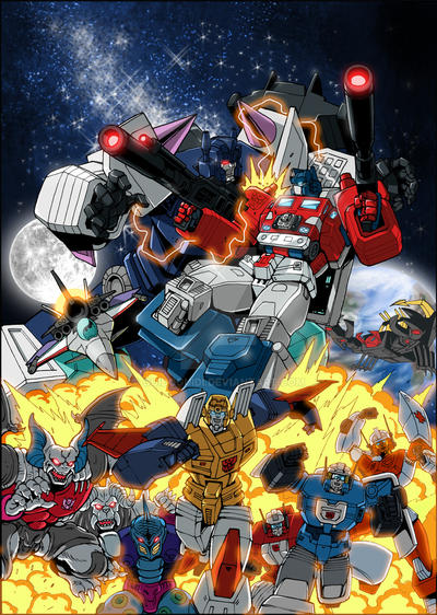 Transformers Masterforce DVD