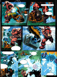 X-Men the ties that bind pg5 by GuidoGuidi