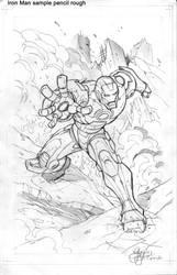 IRON MAN sketch by GuidoGuidi