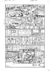 All Hail Megatron 1 p3 pencils by GuidoGuidi