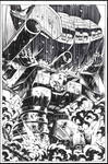 Megatron vs Devastator inks