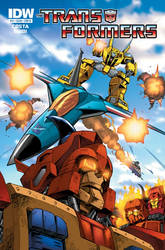 IDW Transformers Ongoing 11 by GuidoGuidi