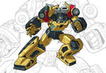 IDW G1 Card - Sunstreaker