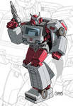 IDW G1 Card - Ratchet