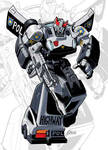 IDW G1 Card - Prowl