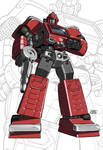 IDW G1 Card - Ironhide