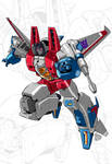 IDW G1 Card - Starscream