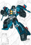 IDW G1 Card - Thundercracker