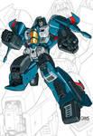 IDW G1 Card - Thundercracker