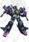 IDW G1 Card - Skywarp