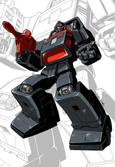 IDW G1 Card - Runabout by GuidoGuidi