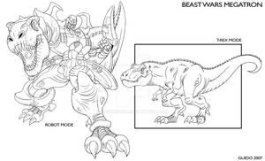 Beast Wars Megatron