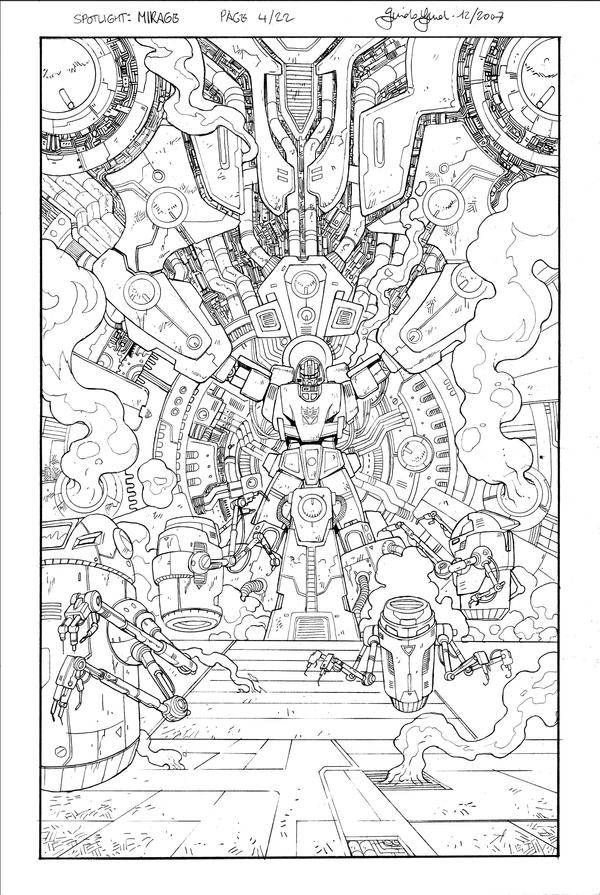 Spotlight Mirage page 4 by GuidoGuidi