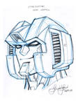 AHM Starscream head study