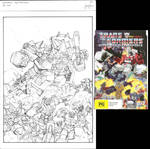 Masterforce DVD cover sketch