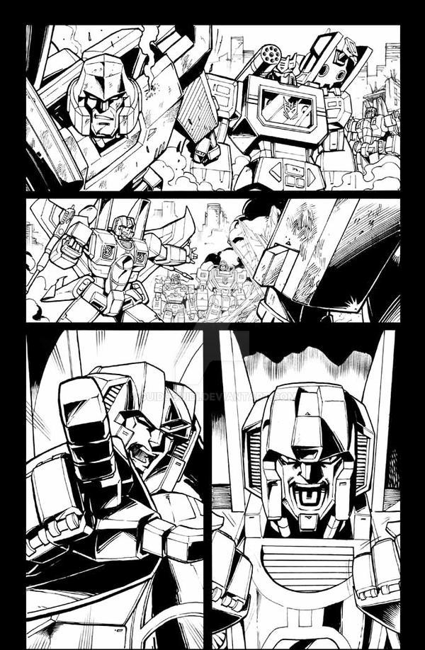 All Hail Megatron 10 pg 8 inks