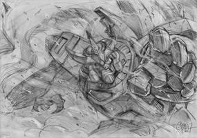 Galvatron promo sketch